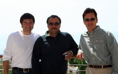 David Mariani, resident trainer at Royal Jaafar Stud, Majdi & Scott