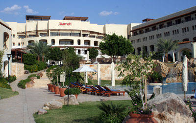The Marriot Resort at the Dead Sea