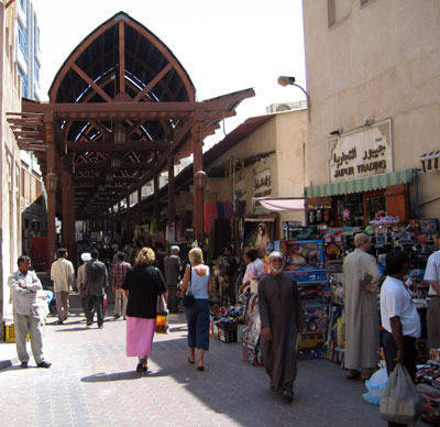 Shopping at the Old Souk