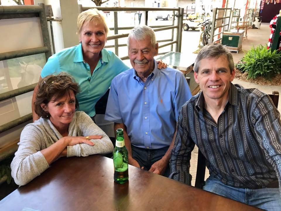 Karen & Andy Wilson, Breeders of MPA Giovanni, Linda McCabe, Breeder & Owner