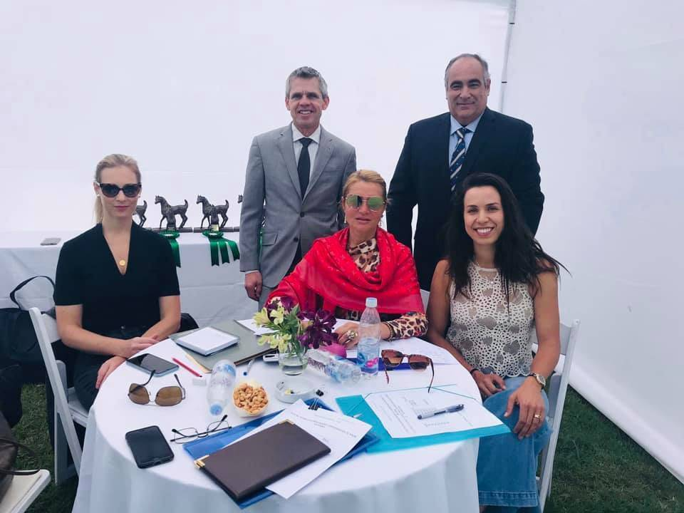Judging Panel for Chilean National Show
