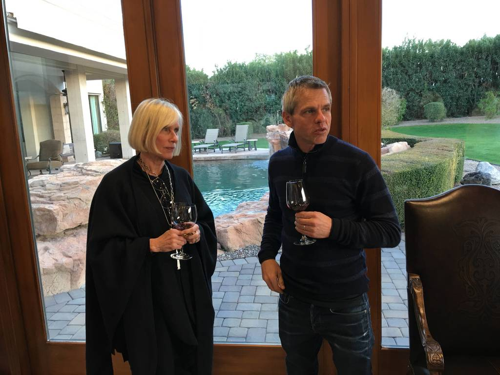 Alpha Omega Wine Tasting with Frank & Sara Chisholm