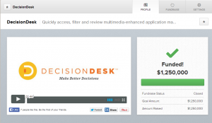 Decision Desk Crowdfunding Success