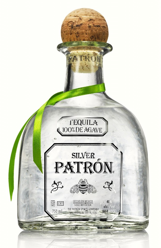 Patron Tequila Bottle