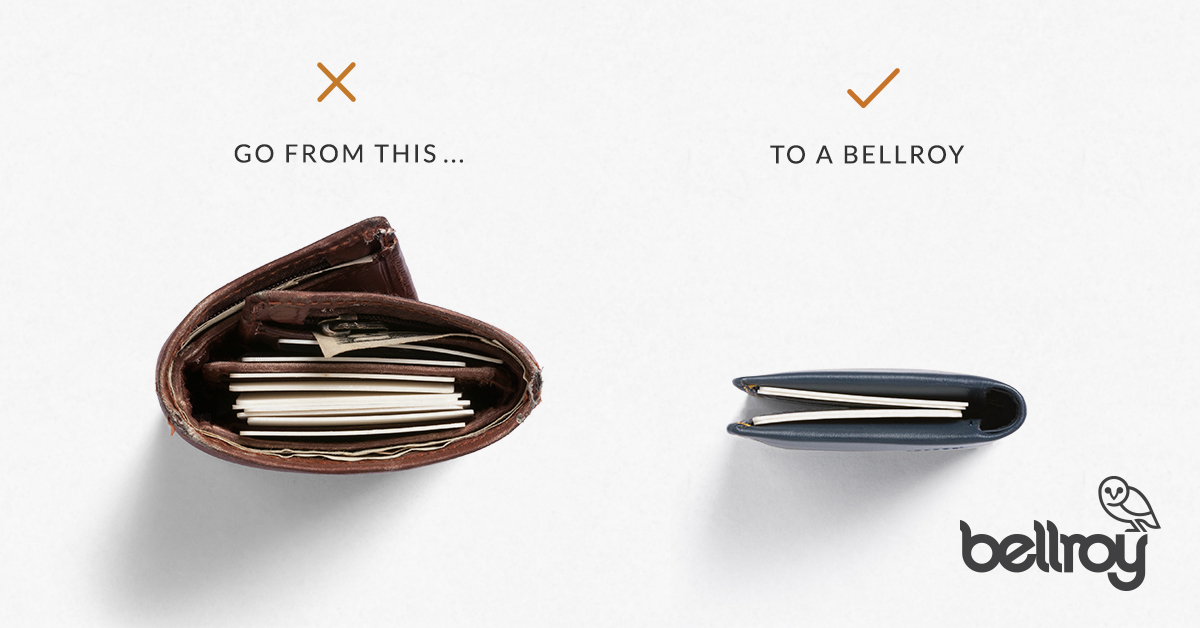 Slim Your Wallet Leather Wallets Without The Excess