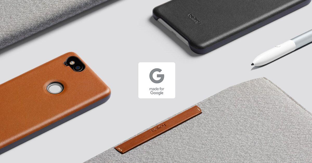 wholesale dealer 5d752 dfb83 Made For Google: Pixel 2 + XL Case & Pixelbook Sleeve | Bellroy