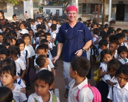 Saving the Bytes: Photographer Bruce Byers Stores and Shares Photos With Epson Multimedia Viewer On 'Healing the Children' Dental Trip to Cambodia