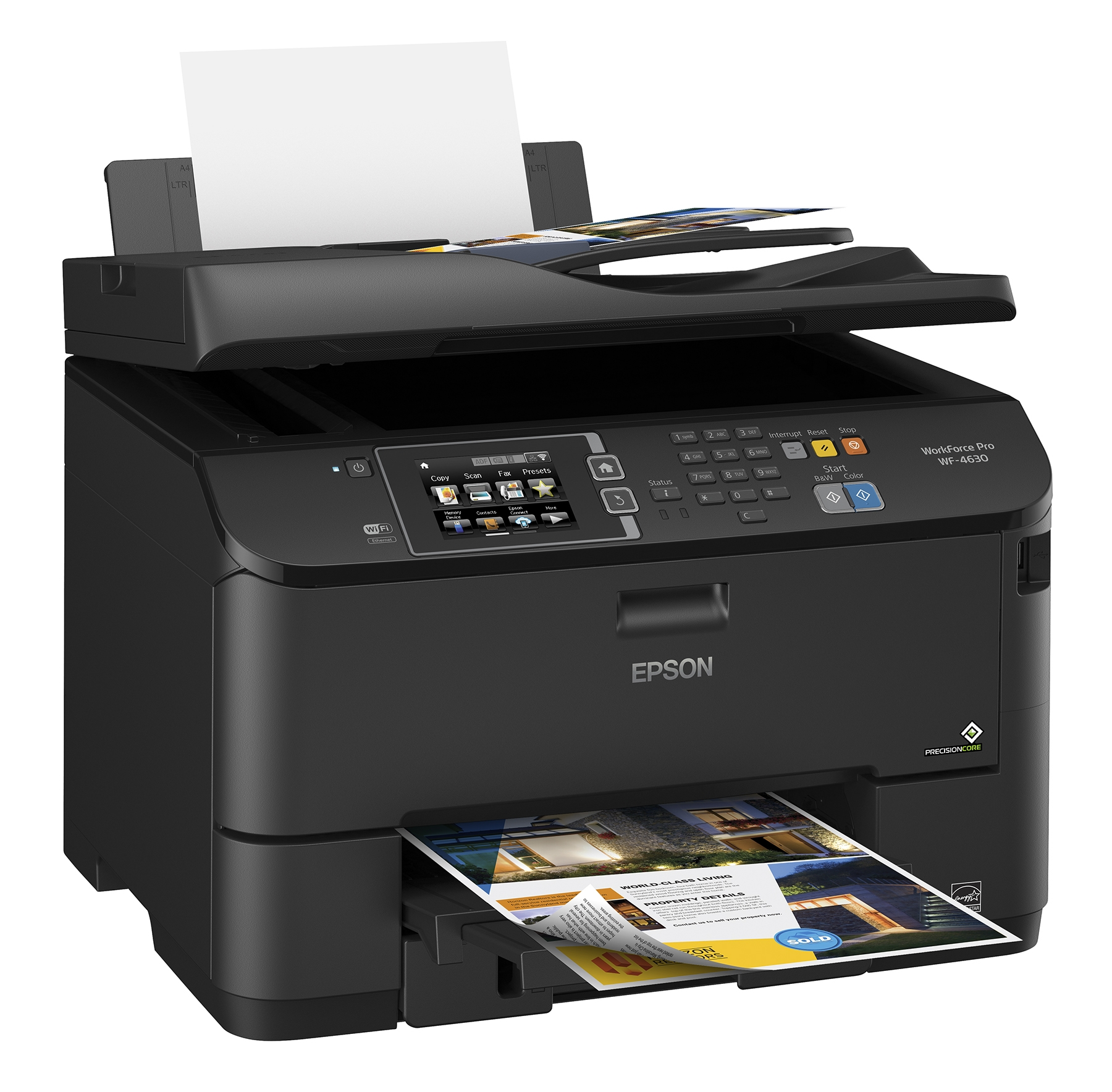New Epson WorkForce Printers Dramatically Cut Color