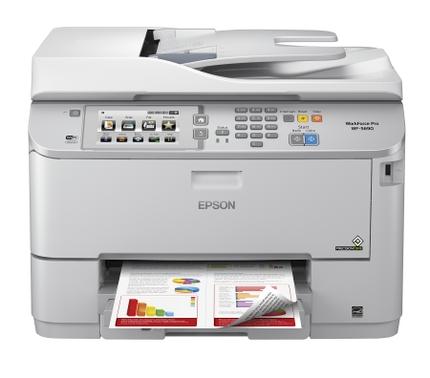 WorkForce Pro WF-5690_Head On w/print sample