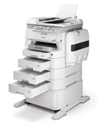 WorkForce Pro WF-R8590_Trays_Left Angle