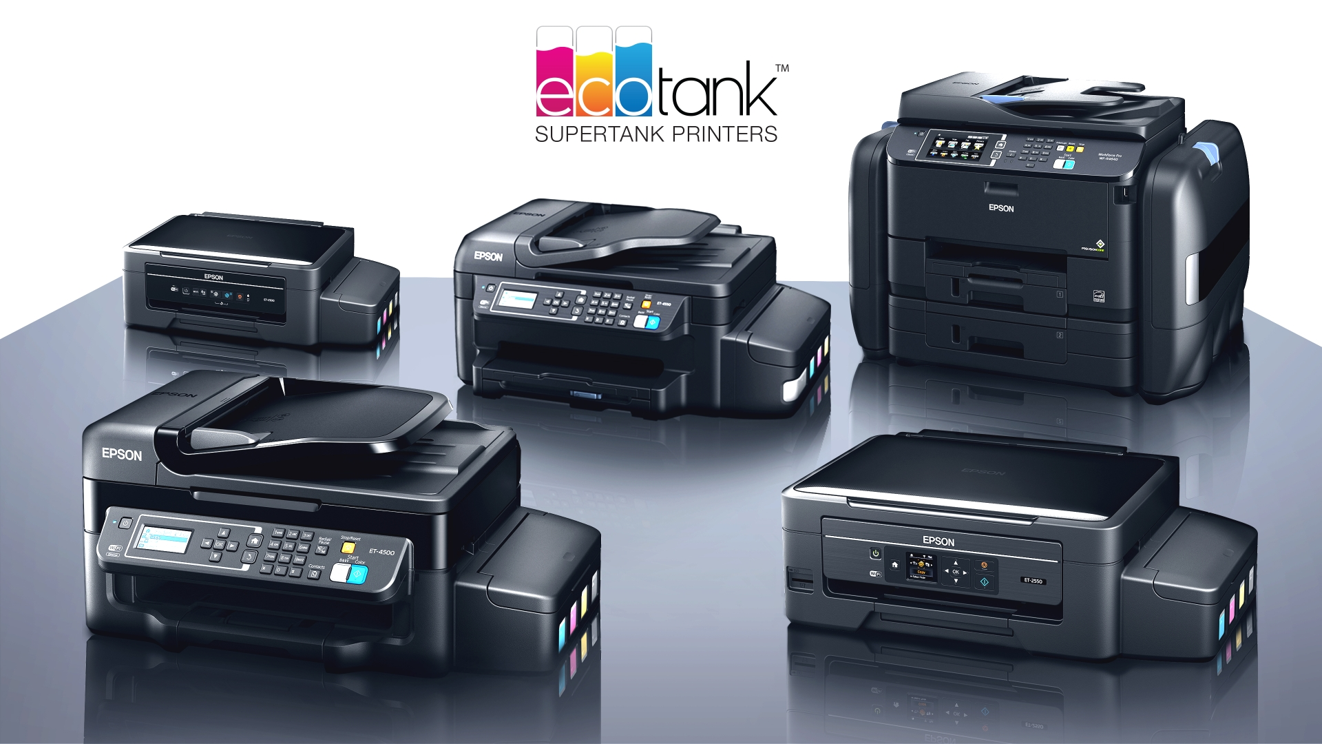 Epson EcoTank All In One Supertank Color Printers