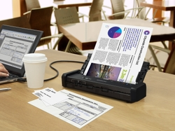 DS-320 Portable Document Scanner with Auto Document Feeder (ADF)