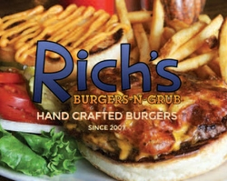 Great Food Flies Faster At Rich's Burgers-N-Grub