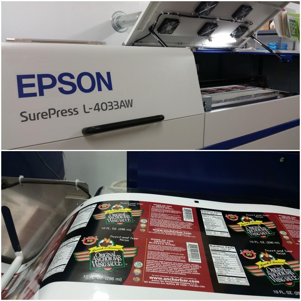 Sharp Labels & Printing Image
