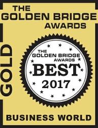 Golden Bridge Awards 2017 - Gold