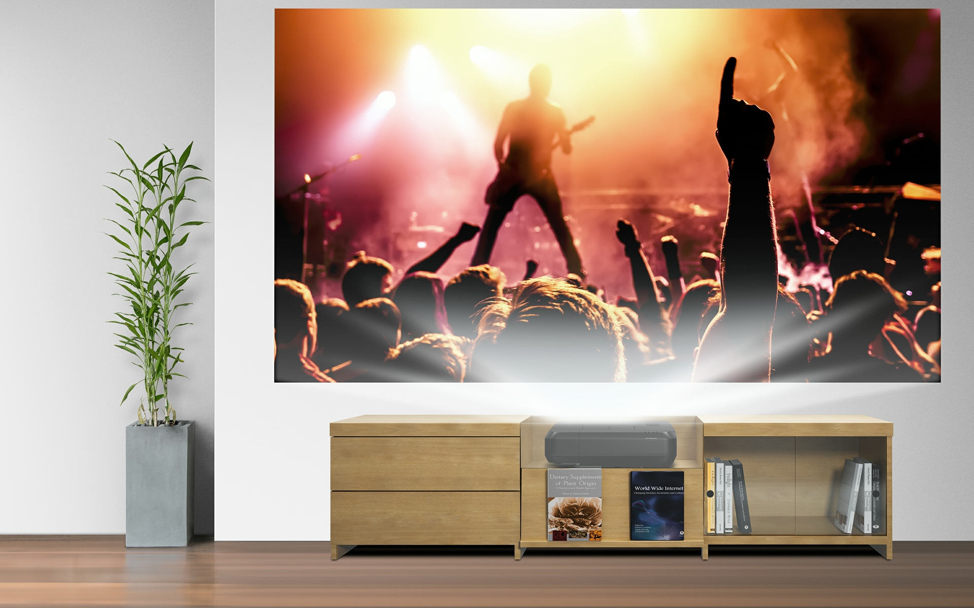 Epson Home Cinema LS100 Digital Laser Display
