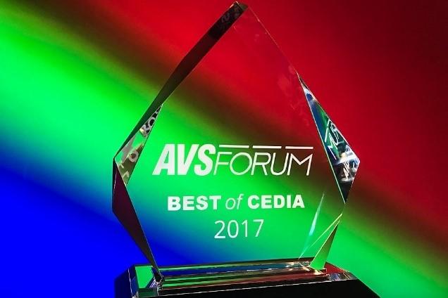 AVS Forum Best of CEDIA 2017 Award