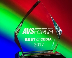 Epson Home Cinema LS100 Laser Display Wins AVS Forum Best of CEDIA 2017 Award