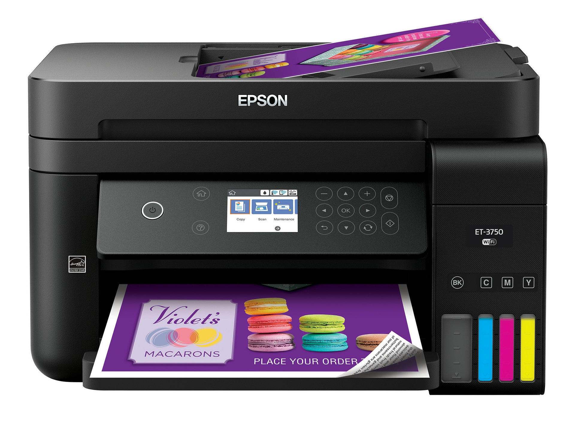 Epson WorkForce ET-3750 EcoTank