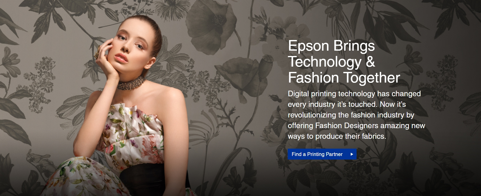 Epson Launches New Digital Fabric Printing Microsite For Fashion Designers Epson Us