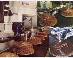 Robotic Cake Decorating