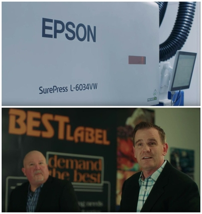 Best Label Inc. Delivers High-Quality Prime Labels with Epson SurePress L-6034VW Digital Label Press