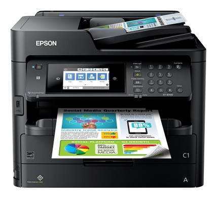 Epson Expands EcoTank Cartridge-Free Printer Portfolio with New, Fully Integrated Ink Pack Design for Busy Offices