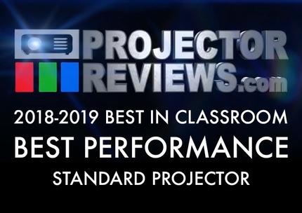 2018-2019-Best-in-Classroom-Education-Projectors-Report-Standard-Performance
