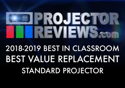 2018-2019-Best-in-Classroom-Education-Projectors-Report-Standard-Value-Replacement