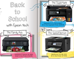 Epson Offers a Wide Variety of Printing Options for Any Student Heading Back to School