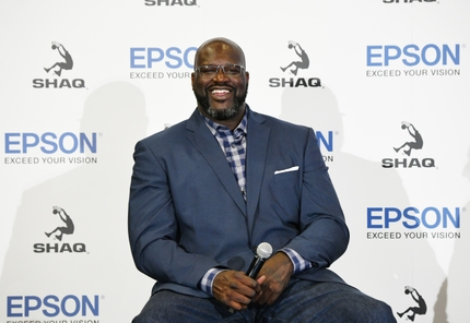 Epson July 9 Media Event_Shaquille ONeal_Image 1