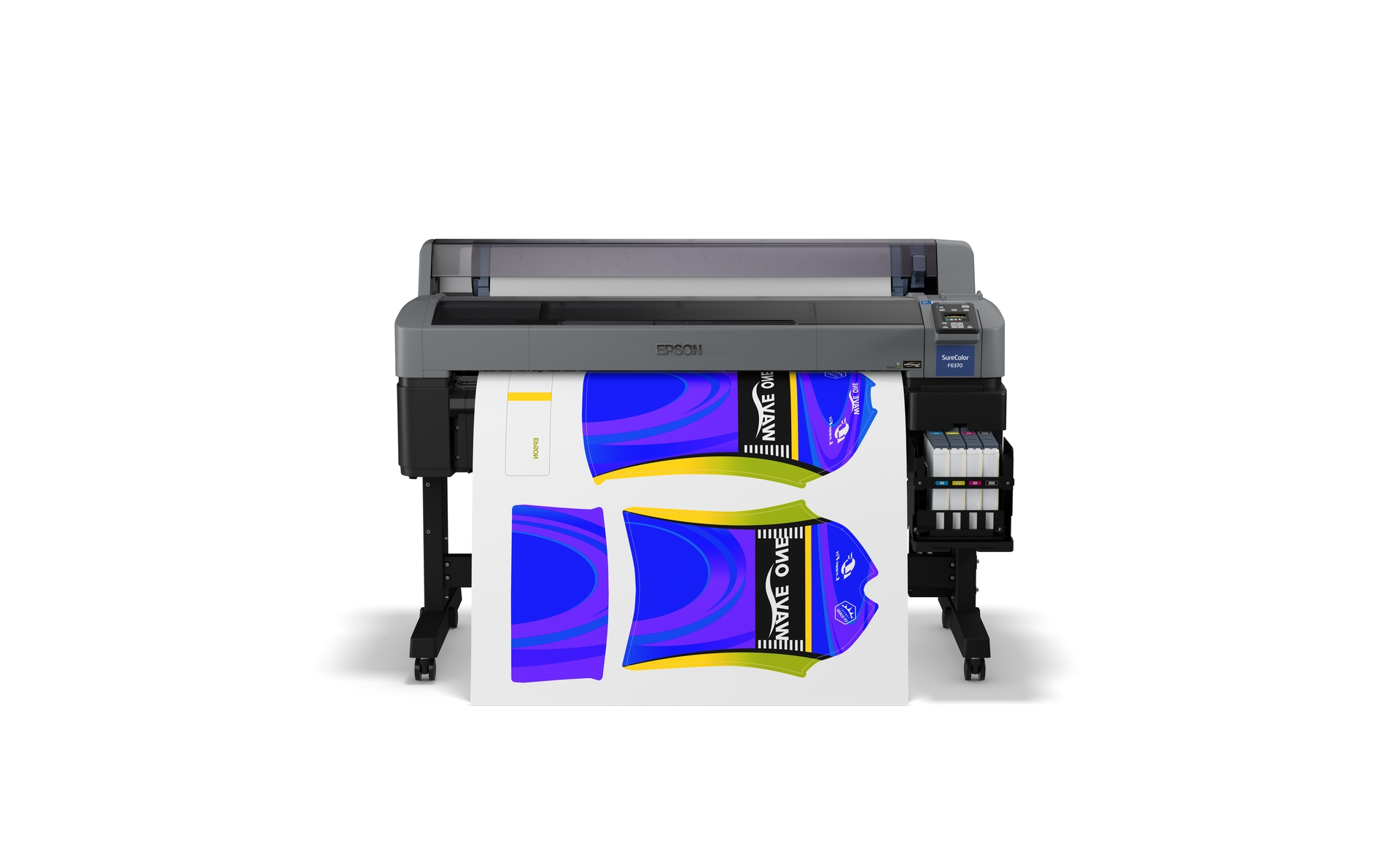 SC-F6370 Front with Blue Jersey Print
