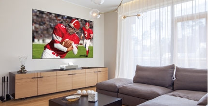 Epson Redefines the Everyday Television Experience With New Epson LS500 Laser Projection TV(1)