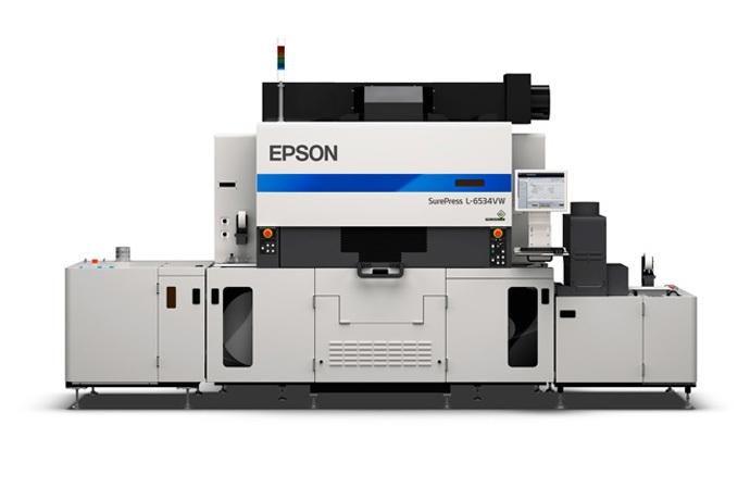 Epson SurePress L-6534VW UV Digital Label Press