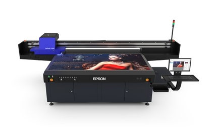 Epson's First UV Flatbed Printer Offers Print Service Providers Outstanding-Quality Outdoor Signage, Promotional Goods and More