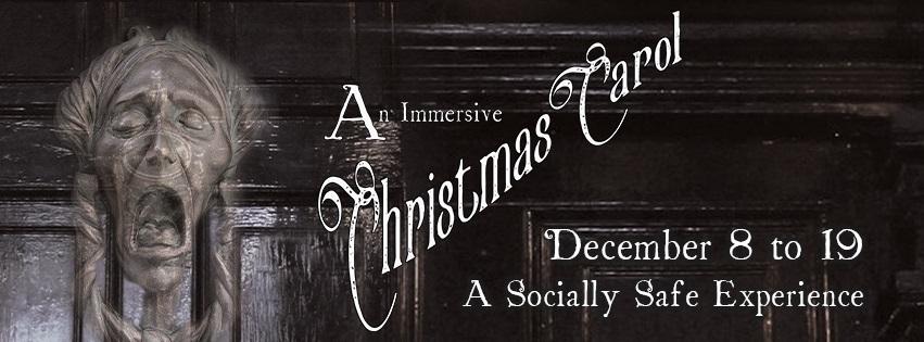 Immersive Christmas Carol - Facebook Banner