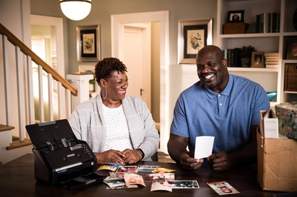 Epson Kicks Off Social Media #FastFotoSweepstakes Featuring Lucille and Shaquille O'Neal to Honor Moms this Mother's Day
