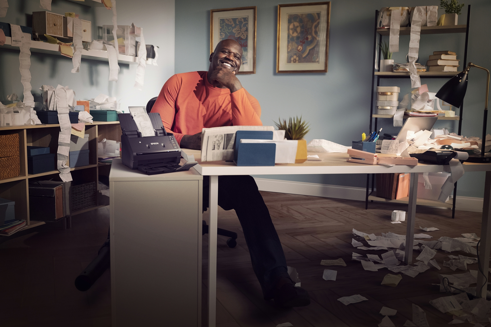 Shaq and Epson Tax Time Image 5