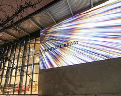 Where technology meets art: Projection mapping with Epson laser projectors' incredible image quality drives campus vibrancy initiative