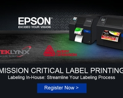 Epson, TEKLYNX and Avery Dennison Offer Insight for Bringing Industrial  Labeling In-house to Improve Compliance and Efficiency