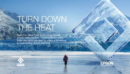 Epson Partners with National Geographic to Help 'Turn Down the Heat'  in the Fight Against Climate Change