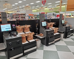 Epson POS Receipt Printer Integrated into Fujitsu U-SCAN Elite Self-Checkout Unit
