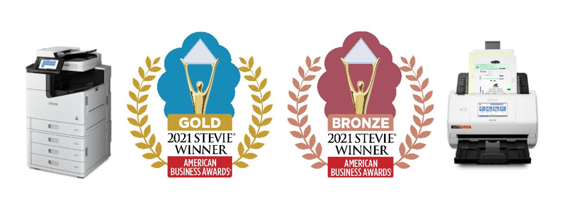 Epson WorkForce Enterprise WF-C21000 and RapidReceipt RR-600W Earn Stevie Awards in 2021 American Business Awards