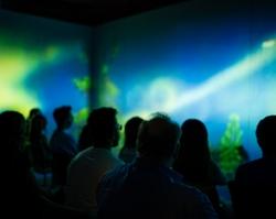 Epson Laser Projectors Illuminate Immersive Journey Through  Mother Nature in Multimodal Audiovisual 'Aurora' Project