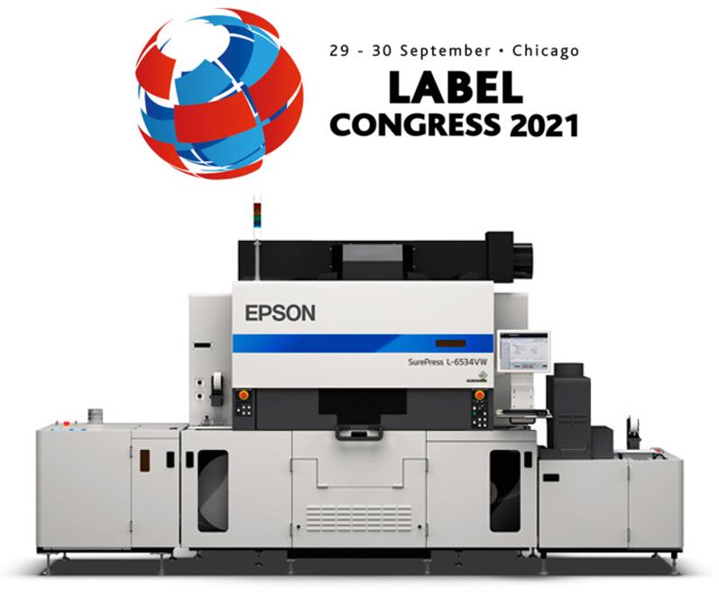 Epson SurePress at Label Congress 2021