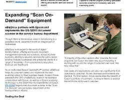 eBizDocs and Epson Case Study
