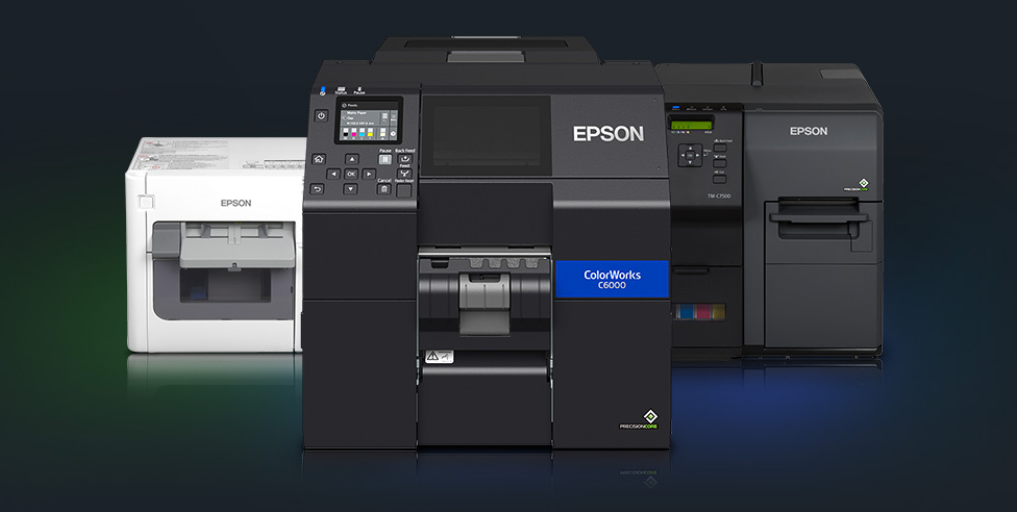 Epson ColorWorks on-demand color label printers