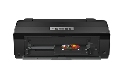 Epson Artisan 1430 Wide-format Printer front open tray