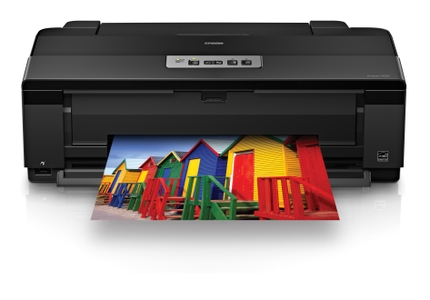 Epson Artisan 1430 Wide-format Printer front reflect