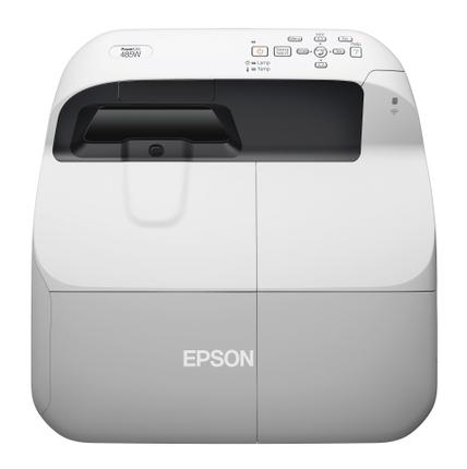 Epson PowerLite 485W Multimedia Projector front